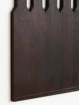 Holzteppich - Detail///Wooden Carpet - detail