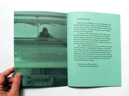 Heft 'die Handweberin'///Booklet 'the Hand-weaver'