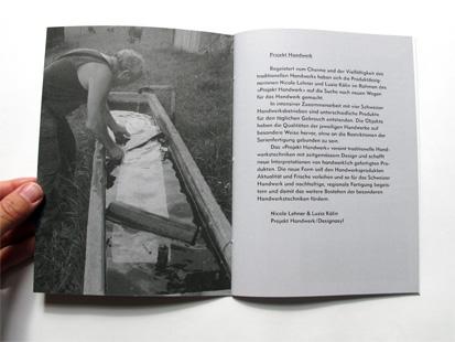 Heft 'der Weissküfer'///Booklet 'the Cooper'
